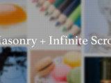 Masonry + Infinite Scroll