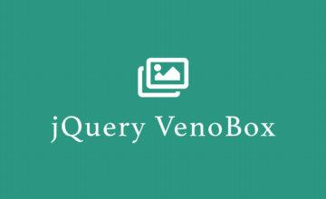 jQuery VenoBox